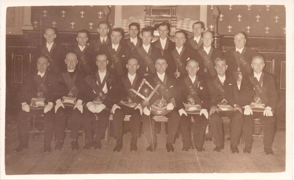 RWM J Clark 1949 and Office Bearers