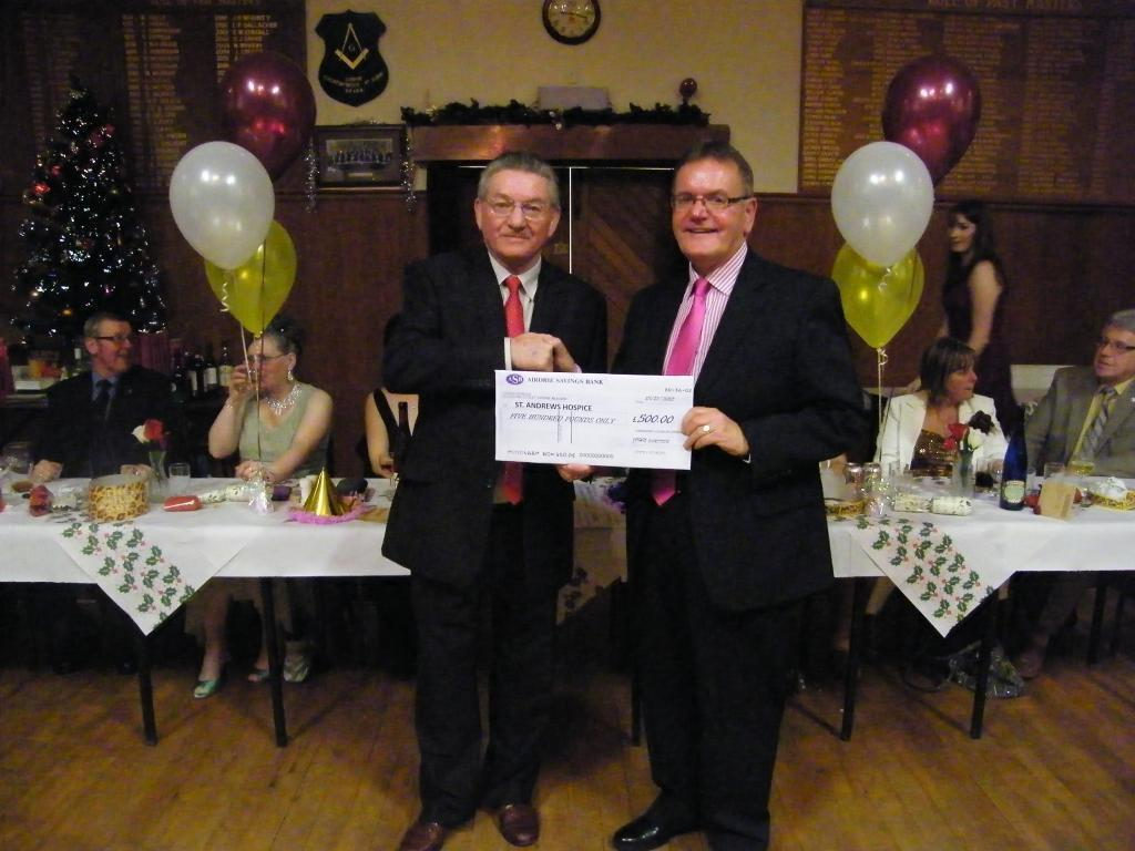 St Andrews Hospice Donation