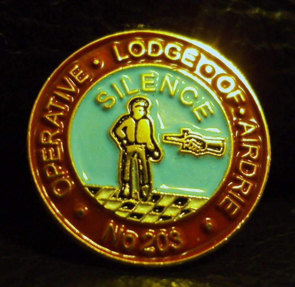 203 pin badge