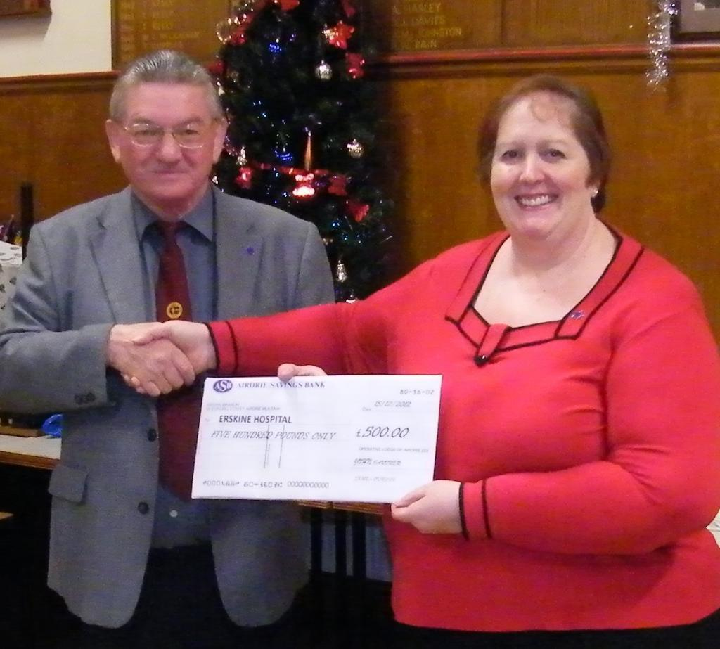 Erskine Hospital Donation